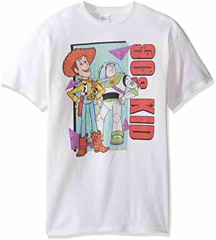 Disney Men's Toy Story 90s Kid T-Shirt