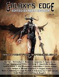 Galaxy's Edge: Issue 22, September 2016 (Volume 22)