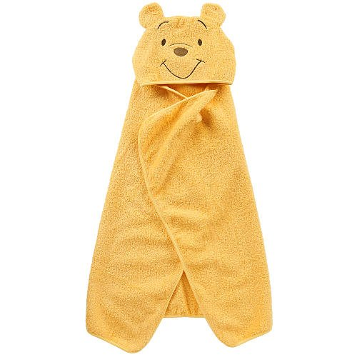 Disney Baby Puppet Head Towel Set, Yellow/White Winnie The Pooh