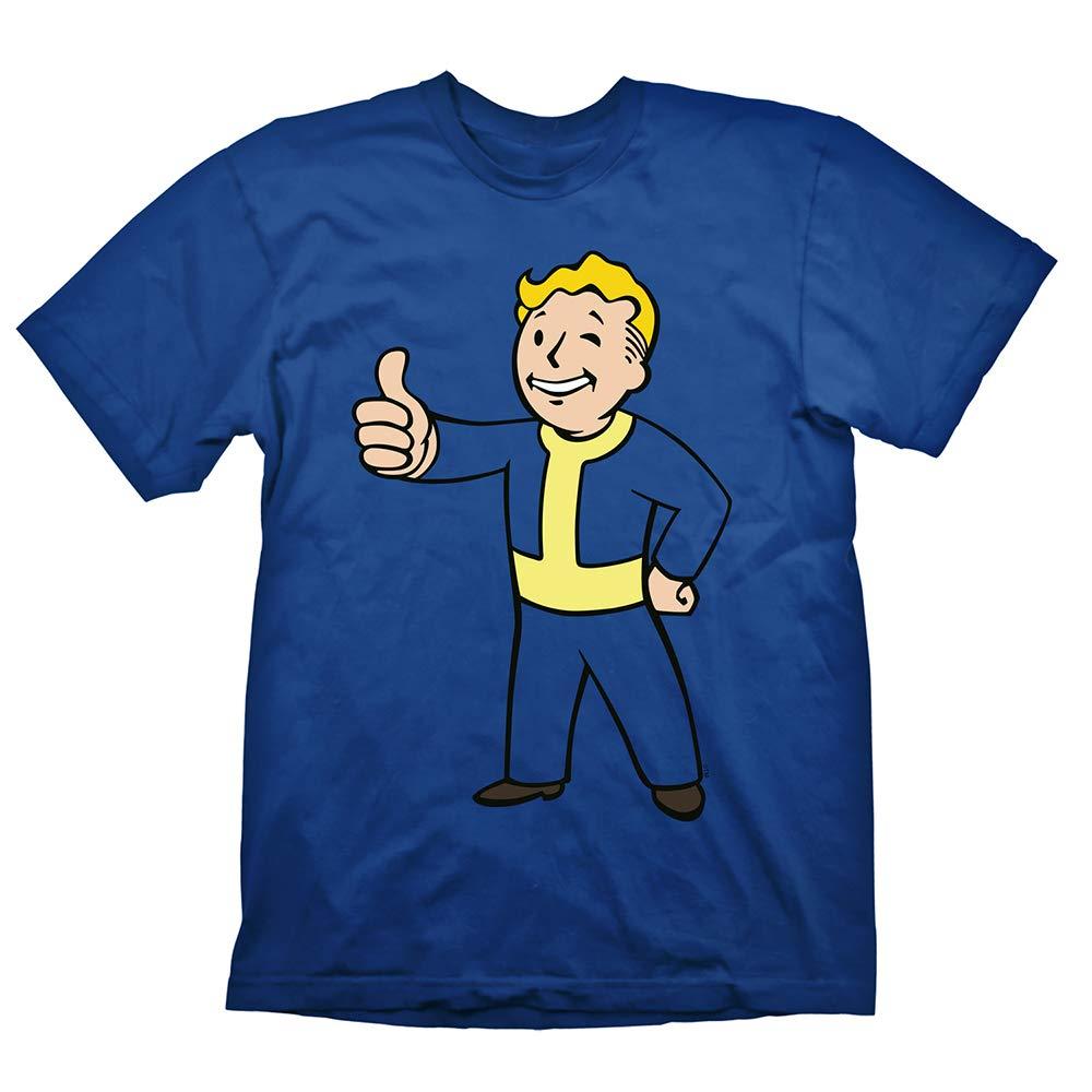 Fallout T-Shirt Vault Boy Thumbs Up - Medium (UK) Fallout 4 GE1646 M