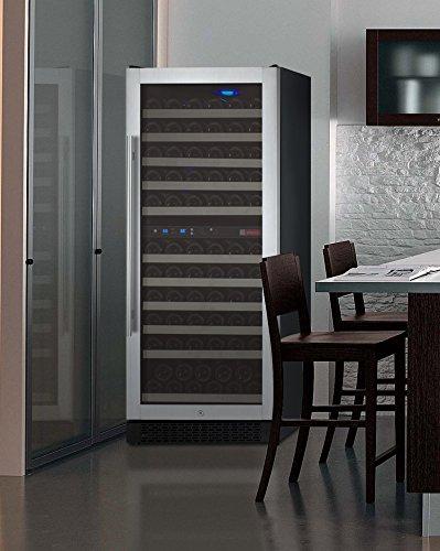 FlexCount Series 121 Bottle Dual Zone Freestanding Wine Refrigerator by Allavino (Image #9)
