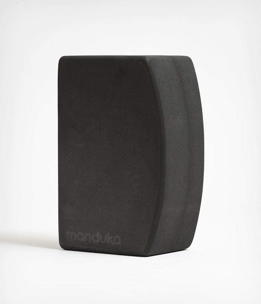 Manduka unBLOK High Density Recycled EVA Foam Yoga Block – Ergonomic Support for Stability, Comfort and Balance in Any Yoga Pose