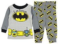 DC Comics Batman Baby Boys' Toddler I Am Batman 2 Piece Pajama Set