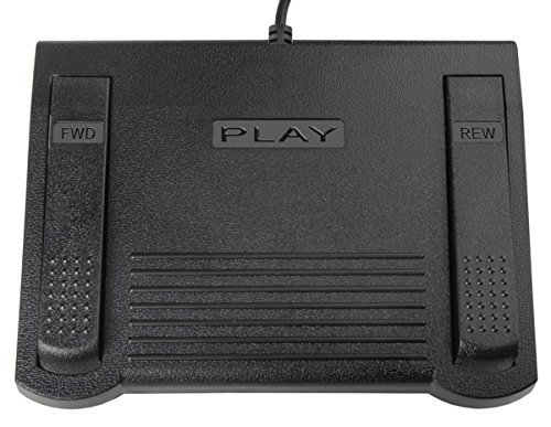 Infinity Foot Pedal For Dictaphone Models w/ Modular plug