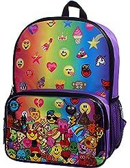 Kids Emoji Backpack & Lunch Bag Set