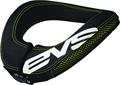 EVS RC3 Youth Race Collar MX/Off-Road/Dirt Bike Motorcycle Body Armor - Black / One Size (Evs Body Armor)