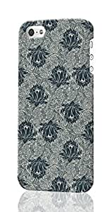 Lotus Flower Pattern Pattern Image - Protective 3d Rough Case Cover - Hard Plastic 3D Case - For iPhone 5c