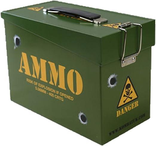Militar/Ejército Estilo Ammo Box/Lata: Amazon.es: Hogar