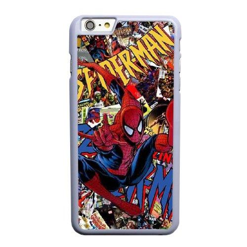 Coque,Coque iphone 6 6S 4.7 pouce Case Coque, Spider-Man Cover For Coque iphone 6 6S 4.7 pouce Cell Phone Case Cover blanc