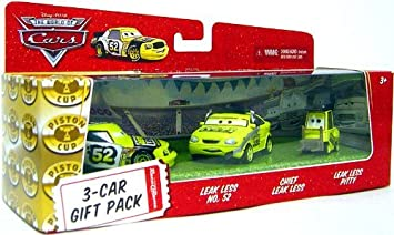 Disney / Pixar CARS Movie 1:55 Die Cast Cars 3-Car Gift Pack Team ...