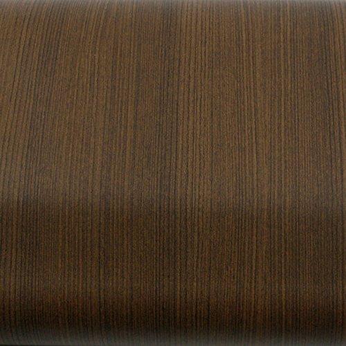 - ROSEROSA Peel and Stick PVC Instant Premium Wood Decorative Self-Adhesive Film Countertop Backsplash Natural Teak (PG4039-1 : 1.96 Feet X 8.20 Feet)