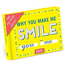Knock Knock Why You Make Me Smile Fill in the Love Journal