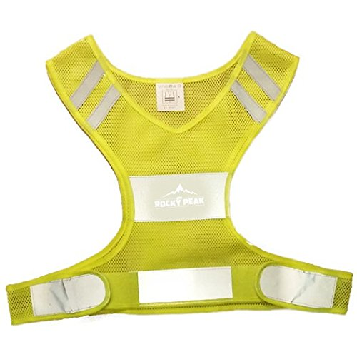 NEW Best Reflective Running Vest w/ Pocket - #1 Recommended Safety Gear - Great for Biking, Cycling, Walking for Men & Women (Small-Large)