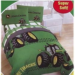 John Deere Twin Comforter & Sheet Set (4 Piece Bed In A Bag)