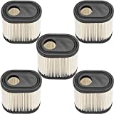 AOUPD 5 Pack 36905 Air Filter Cleaner for Tecumseh 740083A Toro Craftsman Lawn