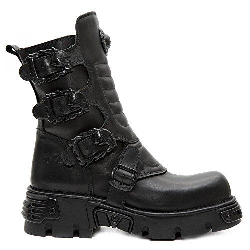 s2 New 391x Botas Adulto Unisex Negro 001 Rock M negro Militares qrRntr