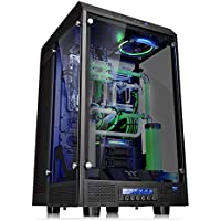 Thermaltake Tower 900 E-ATX Super Tower Computer Case Chassis with Power Supply (Black) + LUXA2 7000 mAh Power Bank