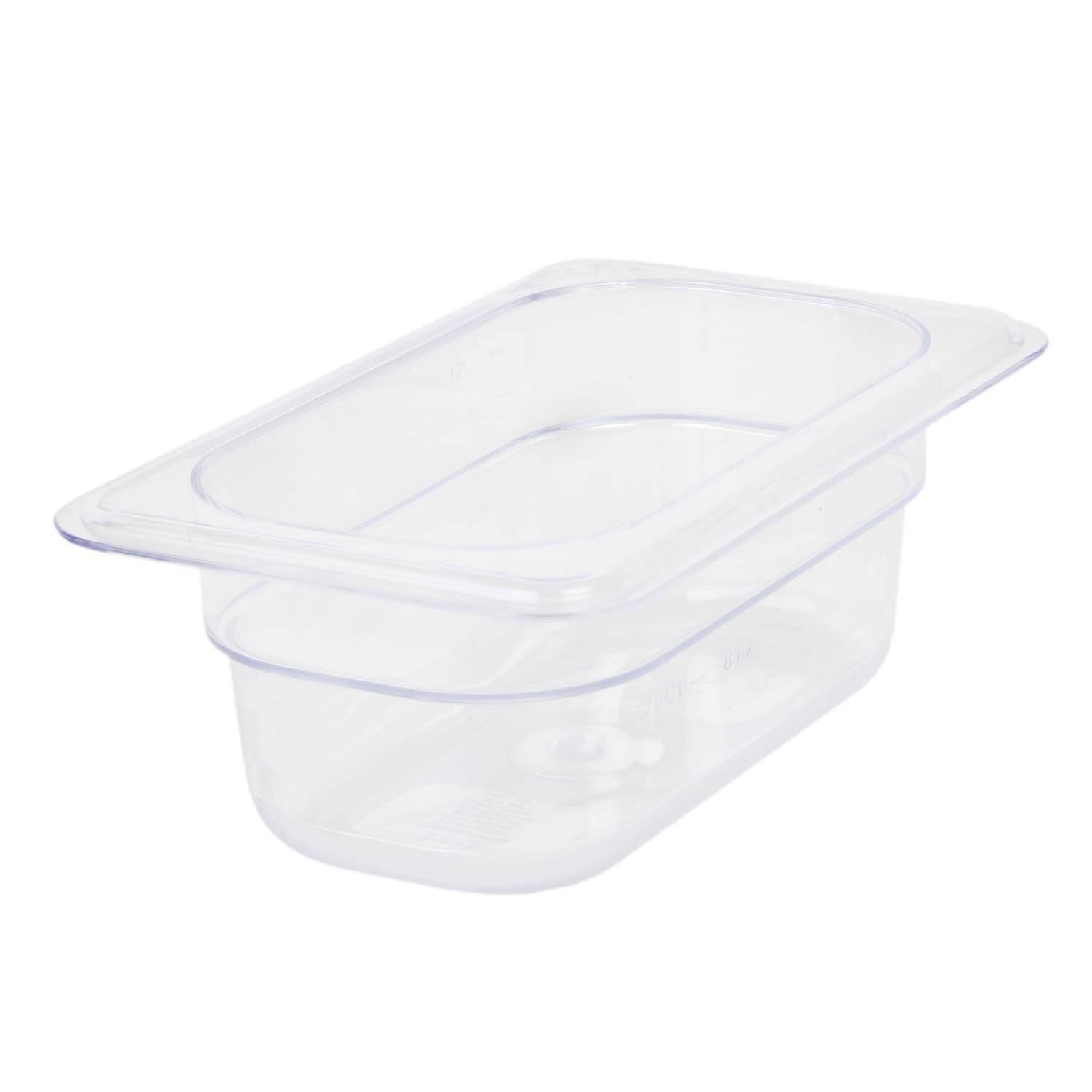 Excellante 849851007284 Deep Polycarbonate Food Pan, 2.5