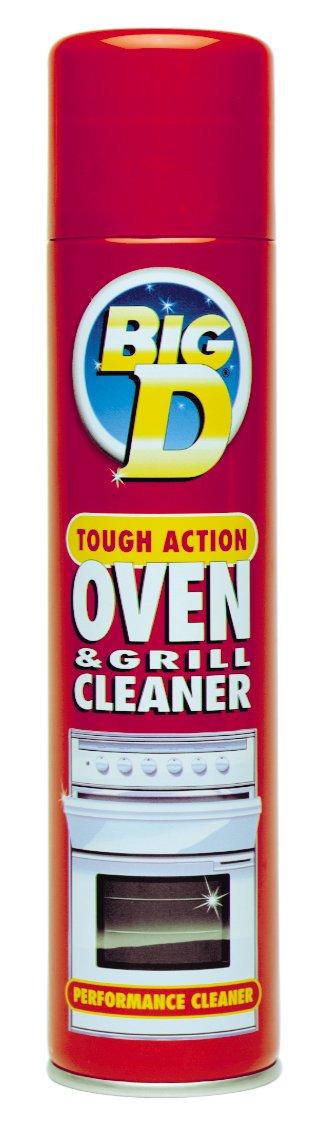 Big D Oven Cleaner, Pack of 6 SPPBK