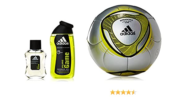 Adidas Pure Game Set Agua de Colonia - Estuche + Balon: Amazon.es: Belleza