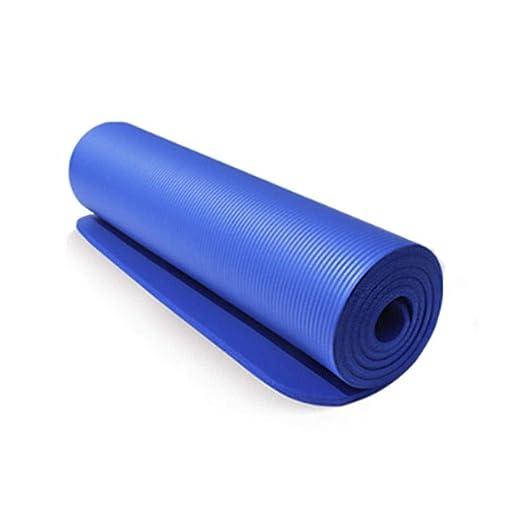 Lipiy Yoga Mat Pad 10 mm Ejercicio de Pilates al Aire Libre ...