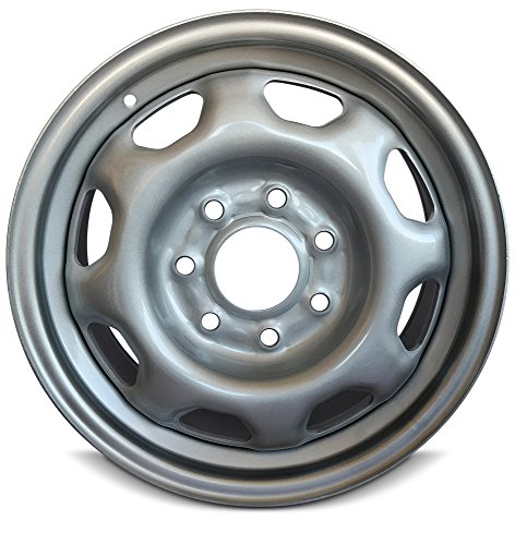 (Road Ready Car Wheel For 2010-2014 Ford F150 17 Inch 7 Lug Gray steel Rim Fits R17 Tire - Exact OEM Replacement - Full-Size Spar)