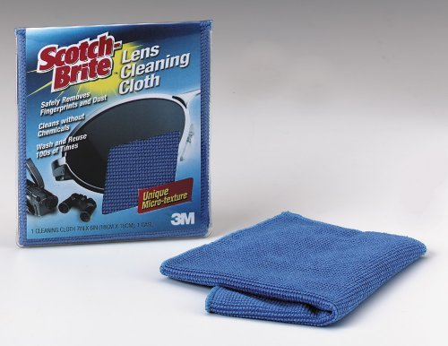 3m Microfiber Electronics Cleaning Cloth, 7  X 6.3-Inches]()