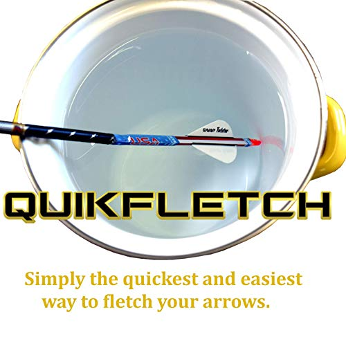 New Archery Products NAP Crossbow QuikFletch Quickspin White/2 Orange