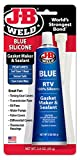 J-B Weld 31316 Blue RTV Silicone Gasket Maker and Sealant - 3 oz.