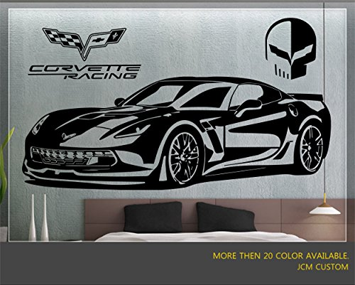 "Used, Corvette Z06 / ZR1 Racing Sport Car Wall Decal / 60"" for sale  Delivered anywhere in Canada"