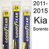 Kia Sorento (2011-2015) Wiper Blade Kit - Set Includes 24