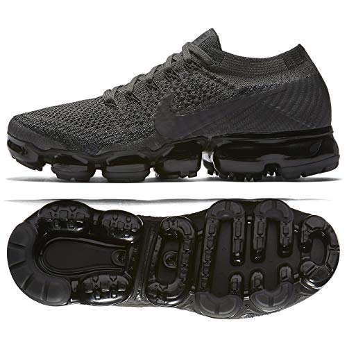 huge discount 512b7 55d31 Nike WMNS Air Vapormax Flyknit 849557 009 Midnight Fog Black Women