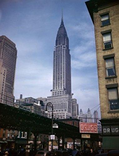 Low angle view of a skyscraper Chrysler Building Manhattan New York City New York USA Poster Print (24 x 36)
