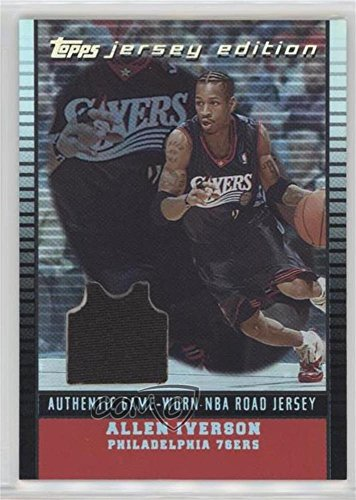 Allen Iverson #/99 (Basketball Card) 2002-03 Topps Jersey Edition - [Base] - Black #je AI ()