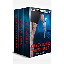 Casey Jones Mysteries Vol 1-3 (Casey Jones Mystery Series)