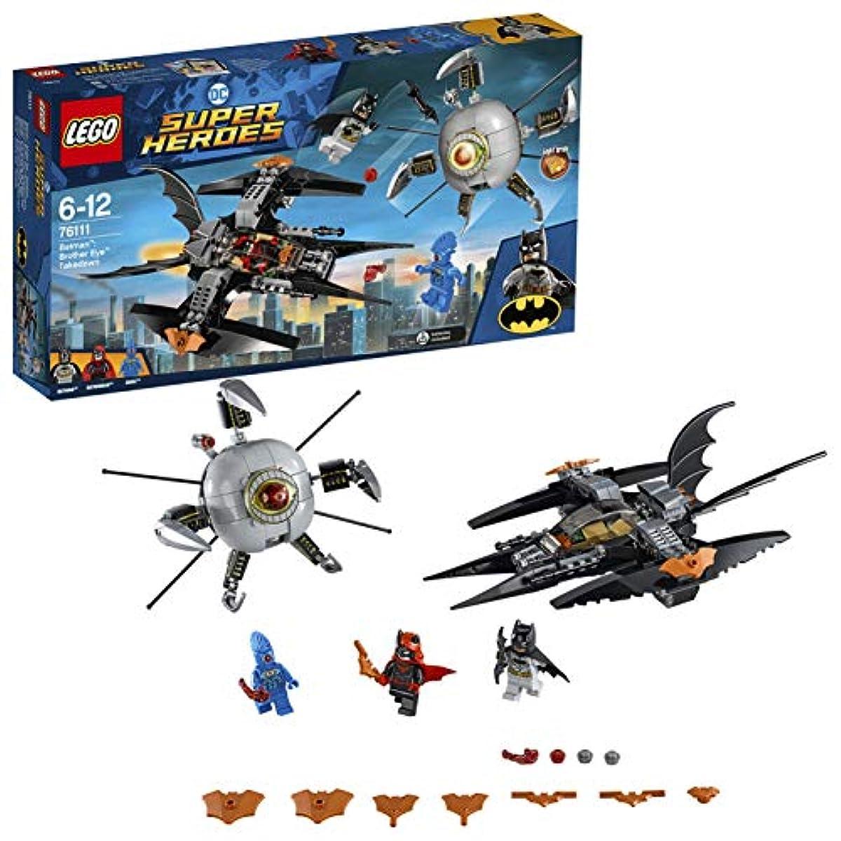 [해외] 레고(LEGO)슈퍼히어로즈 배트맨:브라더 아이 테이크 다운 76111