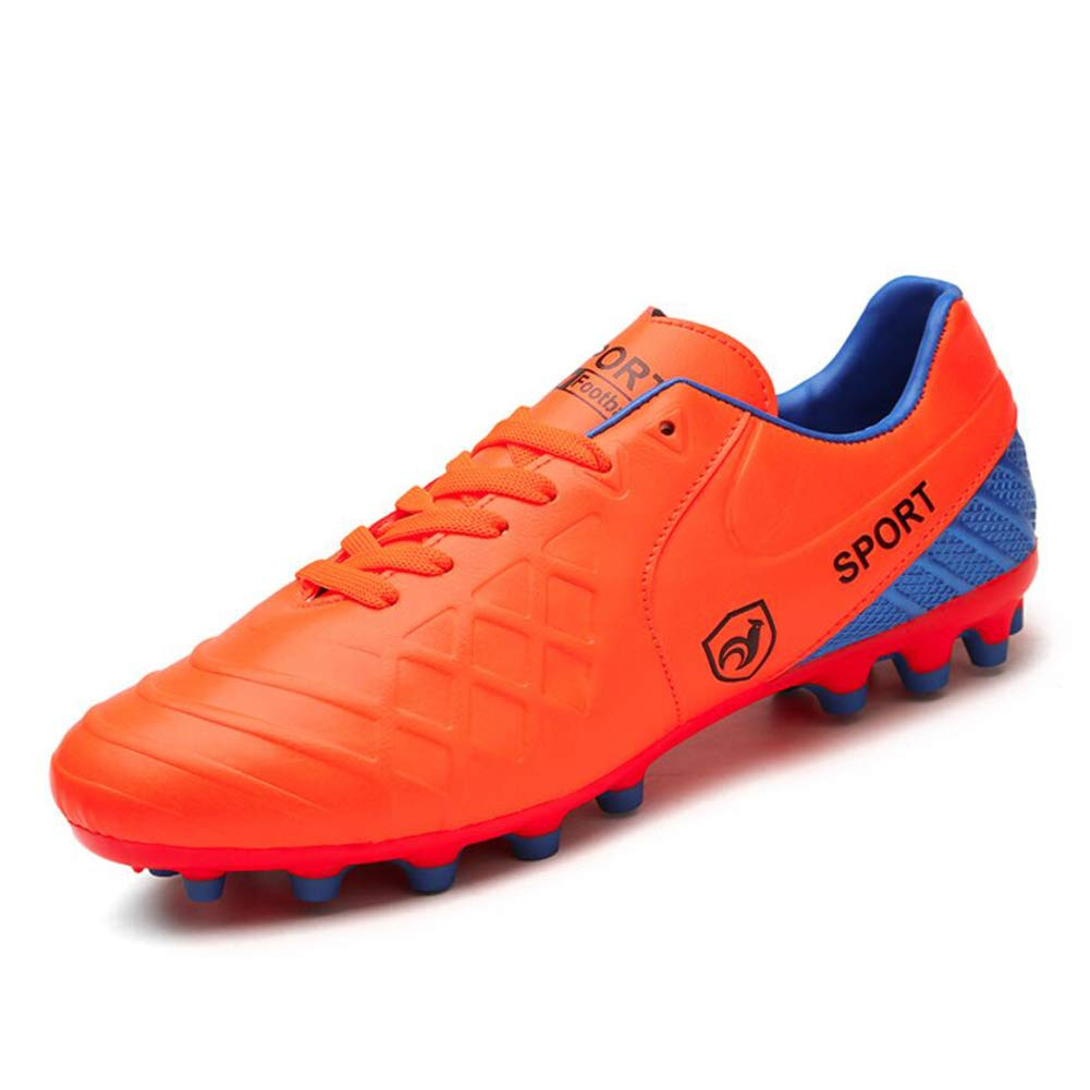 XUE Männer Fußballschuhe/Personality / Fußballschuh Fußballschuh Fußball/Breathable Fußball Anti-Rutsch-, Niedrig-Top- Damen-Turnschuhe, Comfort Anti-Rutsch-, Short Spike Trainingsschuhe