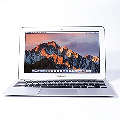 Apple MacBook Air 11.6-Inch Laptop Core i7 2.0GHz (MD845-BTO/CTO), 8GB Memory, MacOS 10.12 Sierra (Refurbished)