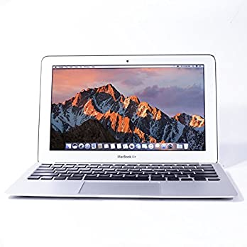 Apple MacBook Air 11.6-Inch Laptop Core i7 2.0GHz (MD845-BTO/CTO), 8GB Memory, MacOS 10.12 Sierra (Refurbished)