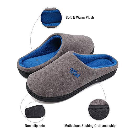 leggero Foam Adulto Per Pantofole Ziitop Uomo Blu confortevole Ciabatte antiscivolo E Memory Inverno Unisex Invernali Giallo ultra Da Casa Donna qAqxnPCzw6