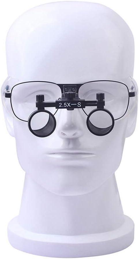 Profesión Lupa Binocular Lupa Médica Lupas Lupa Sin Distorsión Ampliación 2.5X Para Personas Mayores Para Leer, Tarjetas, Estampas Y Joyería Departamento De Otorrinolaringología Quirúrgica