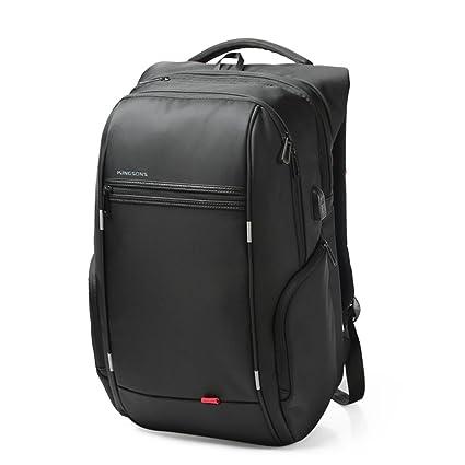 "Kingsons Anti-theft 15"" Laptop Backpack External USB Charge Computer Backpacks Men (15"