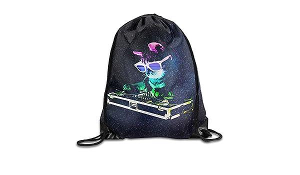 81ae3f6c2428 Amazon.com: MissMr Rainbow DJ Kitty Belt Sports Backpack,Fashion ...