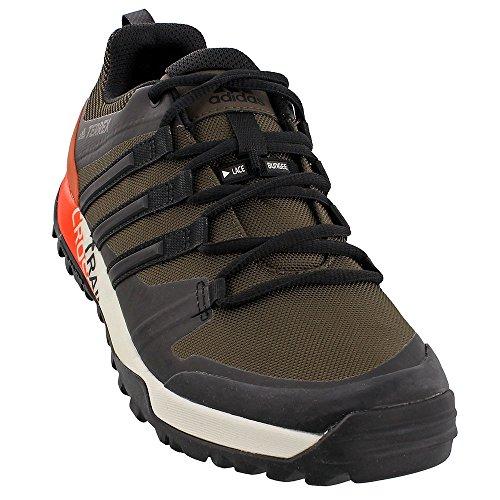 adidas outdoor Men's Terrex Trail Cross SL Umber/Black/Energy 10 D US