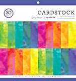 "Arts & Crafts : ColorBok 75386 Spray Paint Cardstock Paper Pad 12"" x 12"""