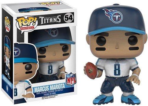 Tennessee Titans Action Figure - Funko POP NFL: Wave 3 - Marcus Mariota Action Figure