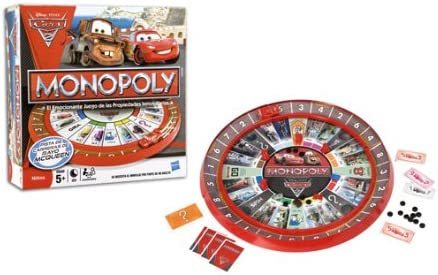 Hasbro Cars - Juego Monopoly: Amazon.es: Juguetes y juegos