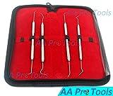 AA PRO 152P1 4 PC STAINLESS STEEL PICK/PROBE WAX