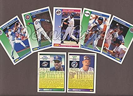 Amazoncom 1992 Score Baseball Collector Set Baseball Set Deans