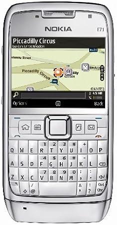 Nokia E71 - Teléfono Móvil Libre - Plata: Amazon.es: Electrónica